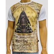 Camiseta Nossa Senhora Aparecida Nicho Nova