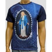 Camiseta Nossa Senhora das Graças Marinho