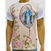 Camiseta Nossa Senhora das Graças Terço