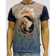 Camiseta Santa Rita Azul Degradê
