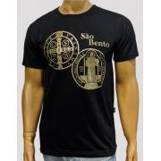 Camiseta São Bento Crom Preta