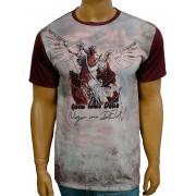 Camiseta São Miguel Arcanjo Novo Vinho