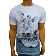 Camiseta São Miguel Mono Branco