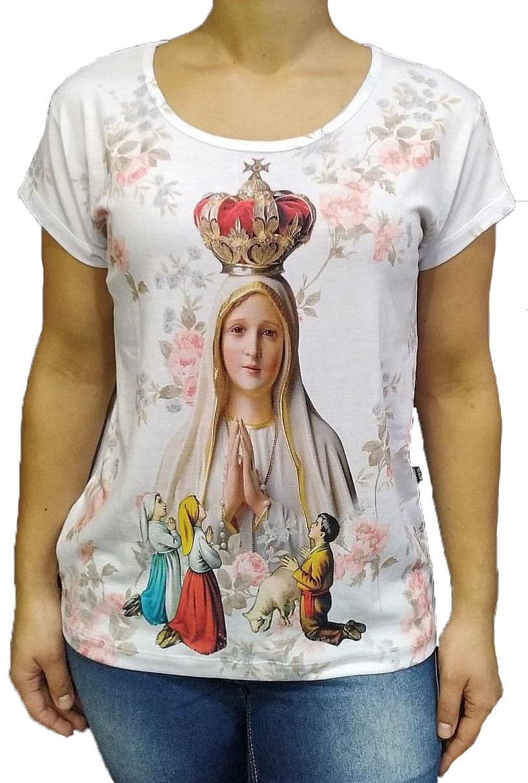 Cam. Feminina Nossa Senhora de Fátima Branca Total