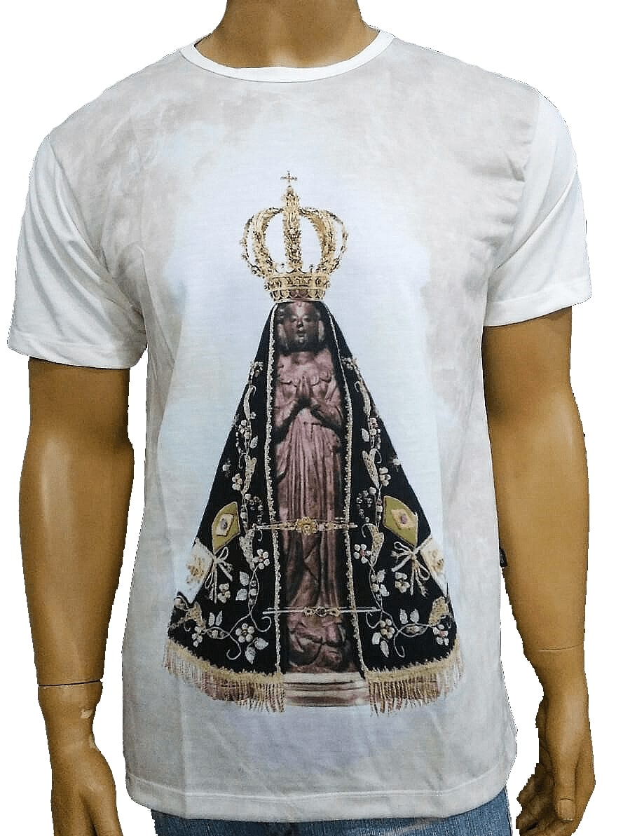 Camiseta Aparecida Crom Color