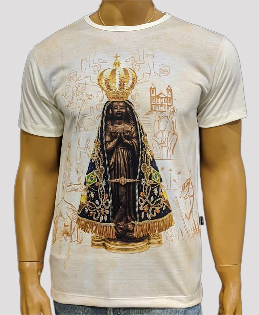 Camiseta Aparecida Jubileu Marfim