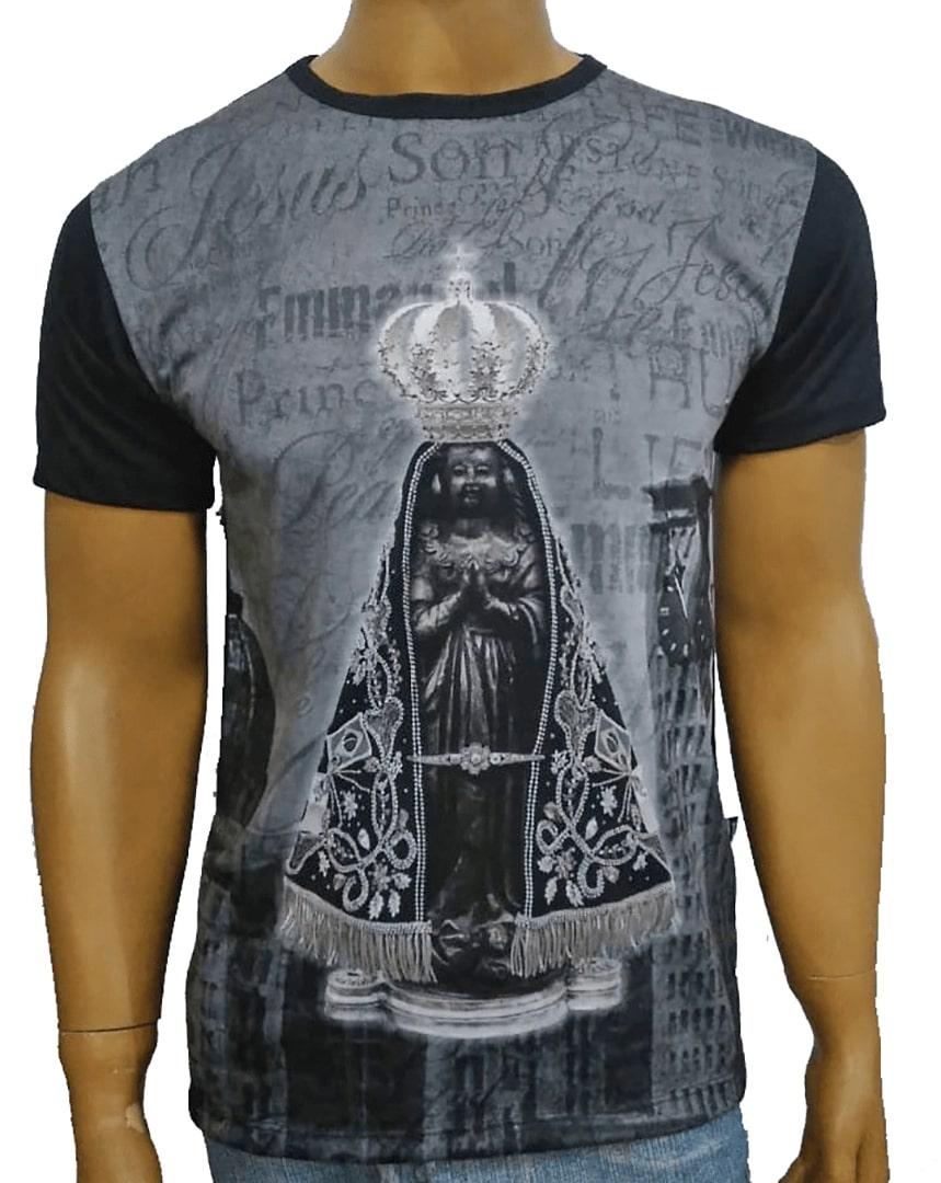 Camiseta Aparecida Jubileu Preta