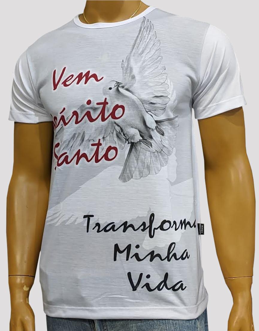 Camiseta Espirito Santo Branco