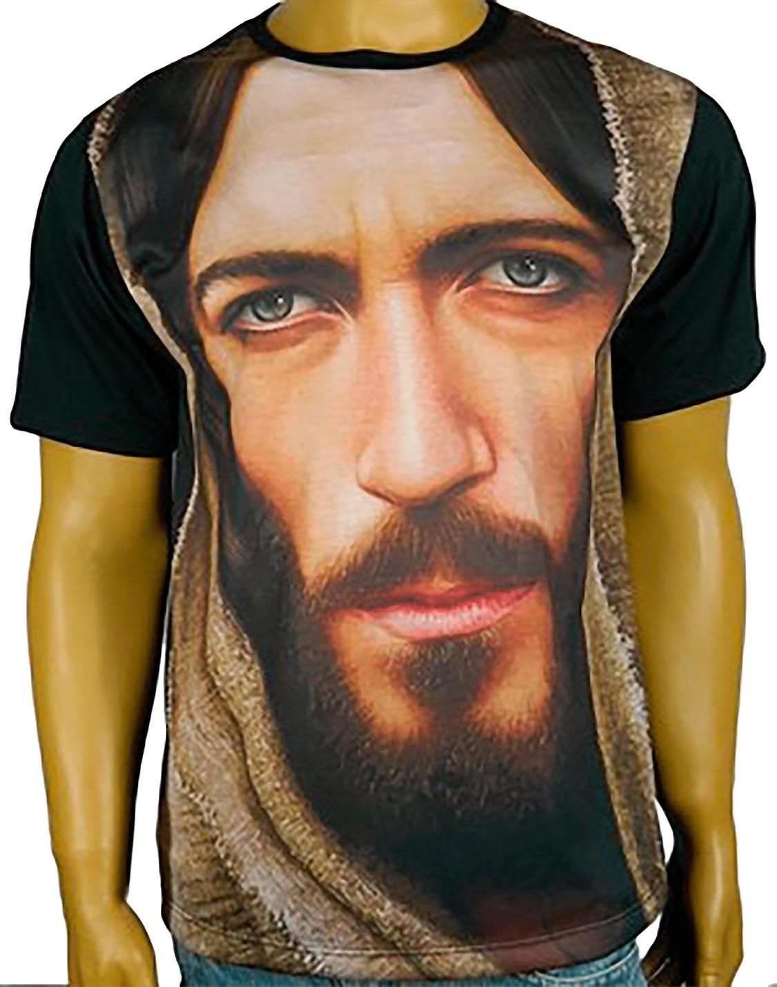 Camiseta Face de Cristo Color