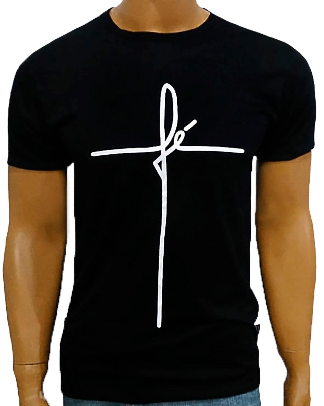 Camiseta Fé Preta