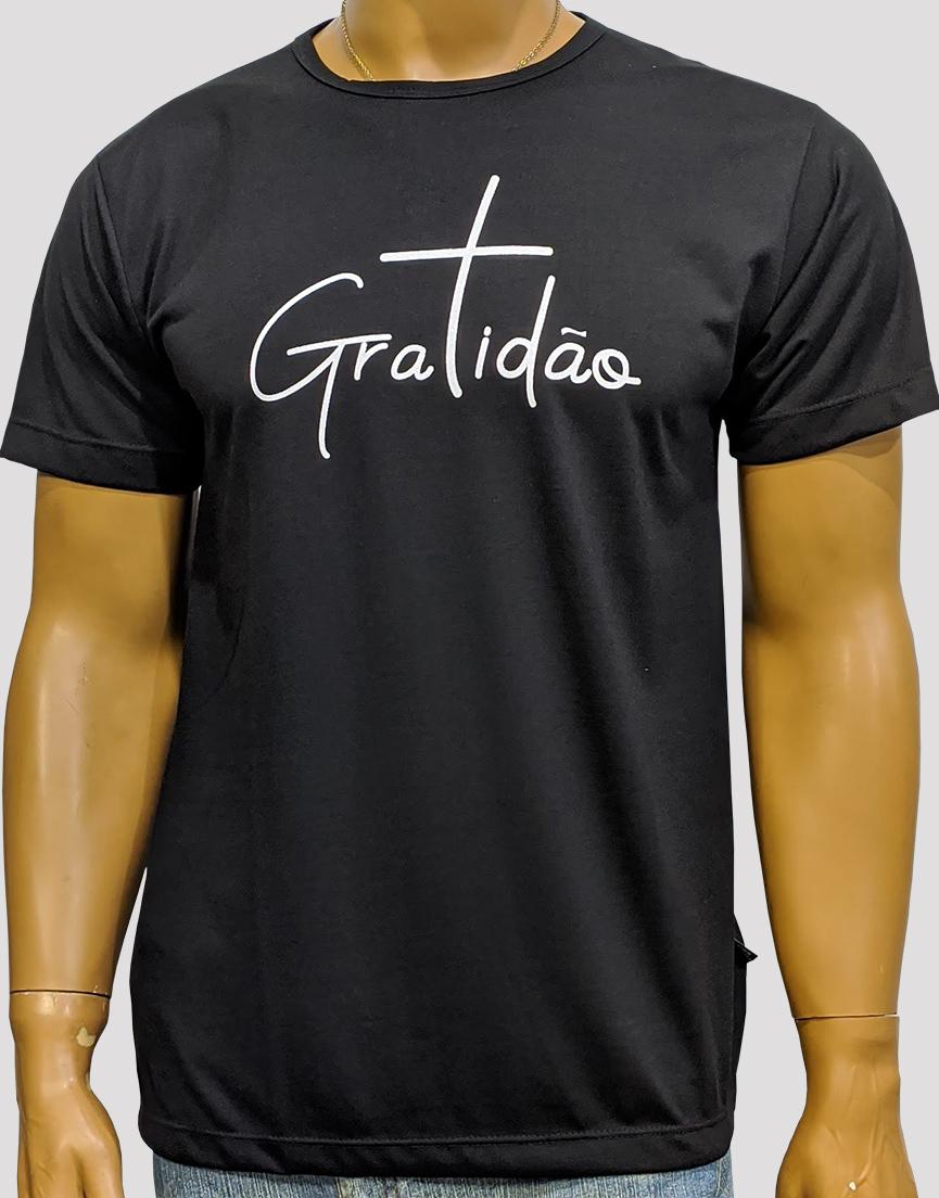 Camiseta Gratidão Preta