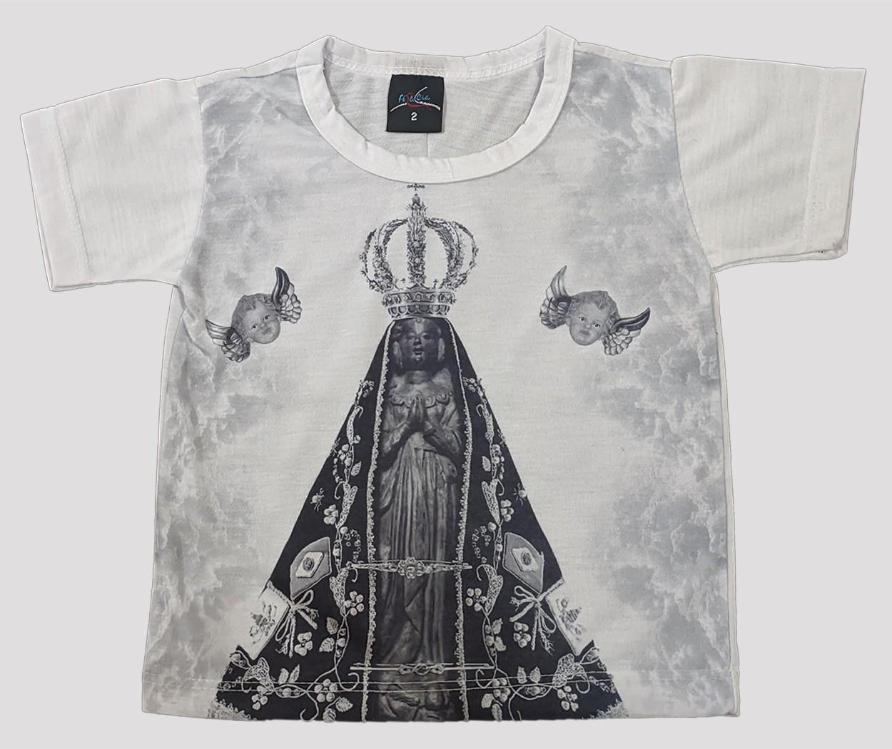 Camiseta Infantil Aparecidinha Mono