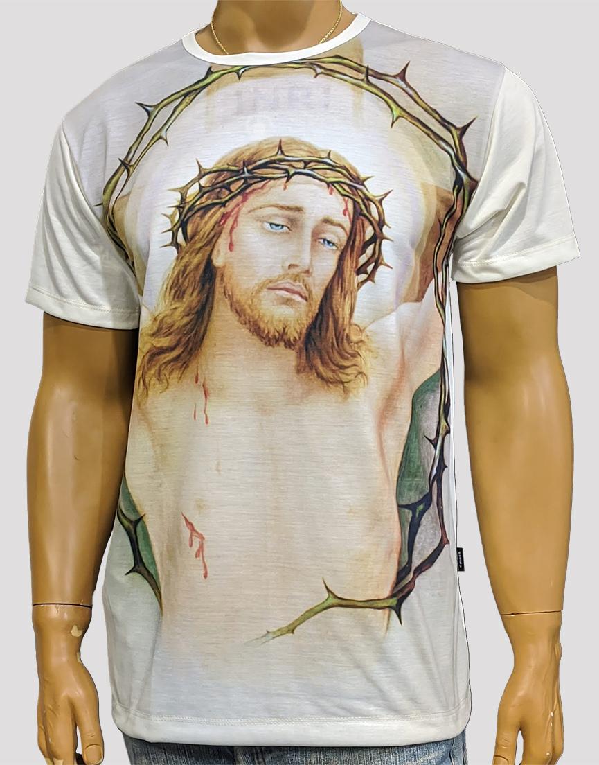 Camiseta Jesus Inri Color