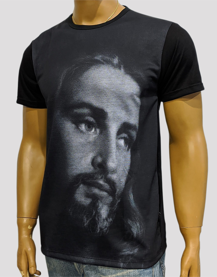 Camiseta Jesus Mosaico