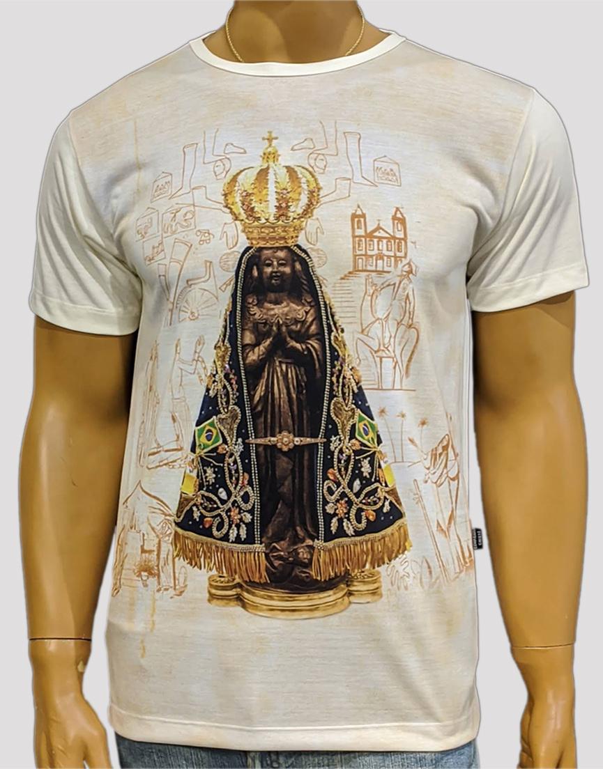 Camiseta Nossa Senhora Aparecida Jubileu Marfim