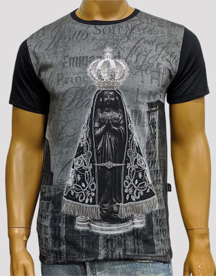 Camiseta Nossa Senhora Aparecida Jubileu Preta