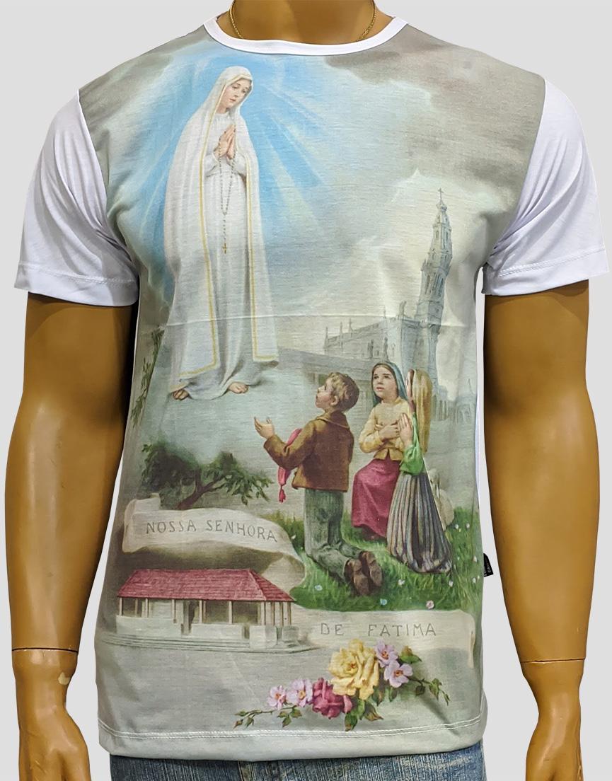 Camiseta Nossa Senhora de Fatima Igreja