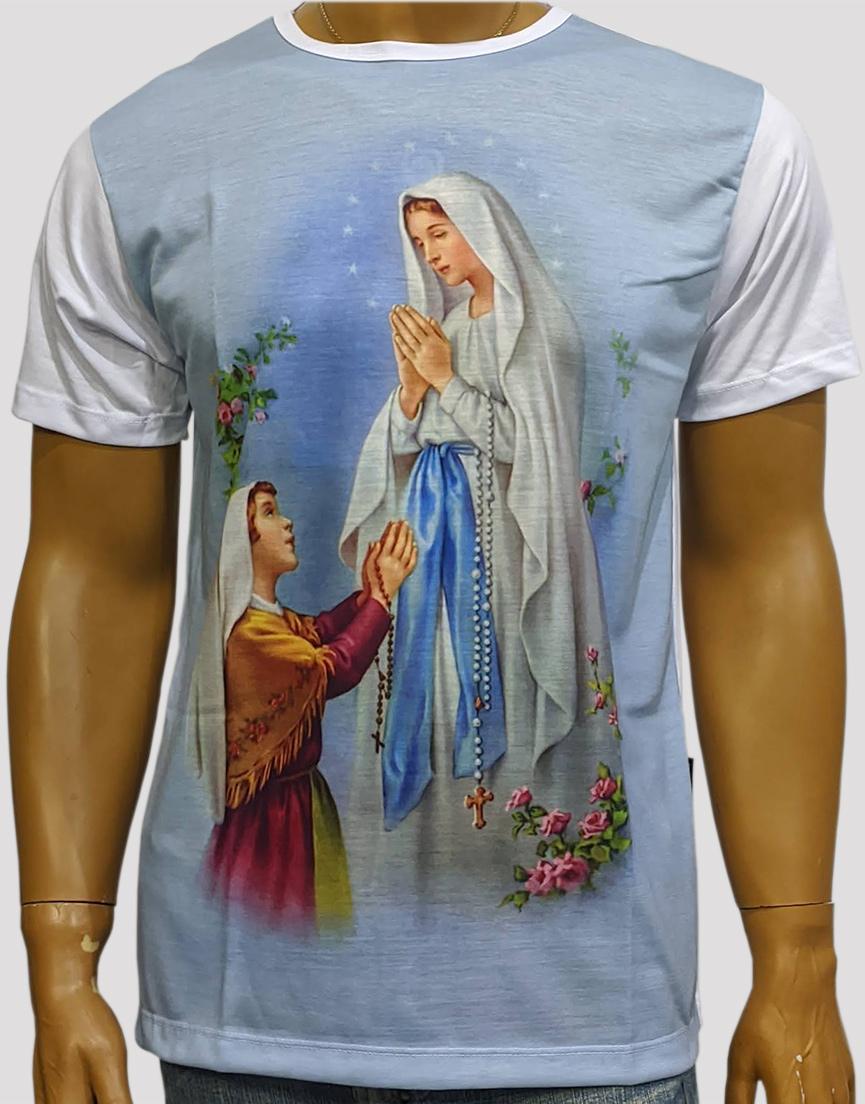 Camiseta Nossa Senhora de Lourdess