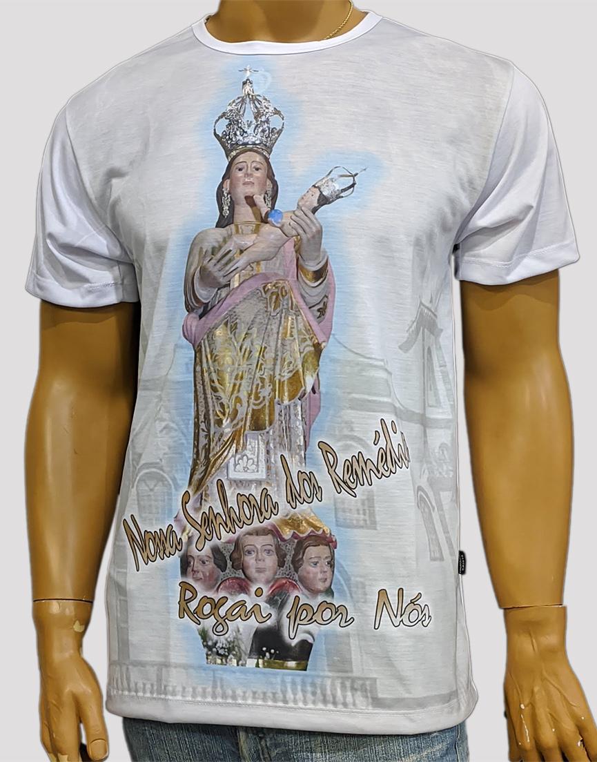 Camiseta Nossa Senhora dos Remédios
