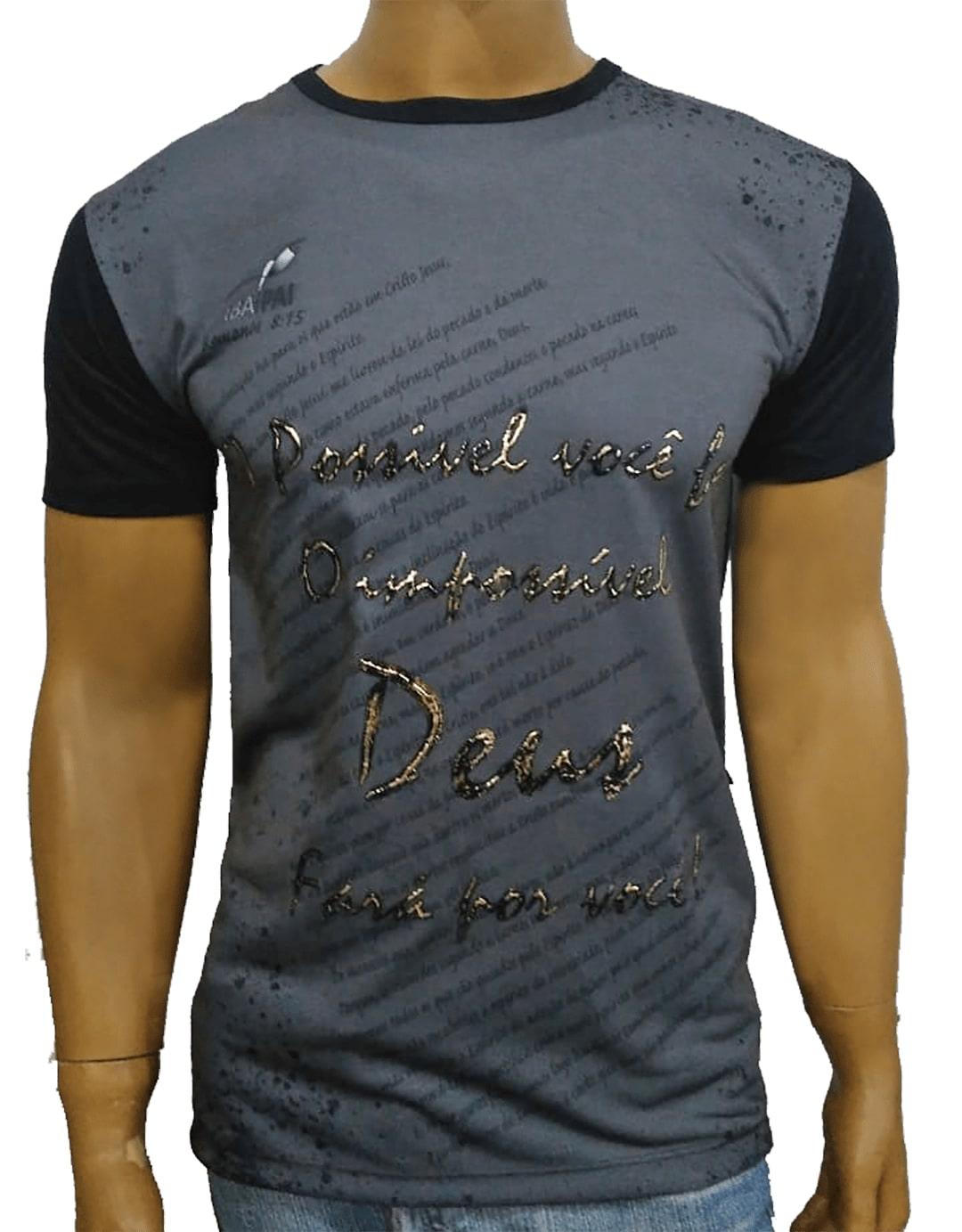 Camiseta O Possível Preto