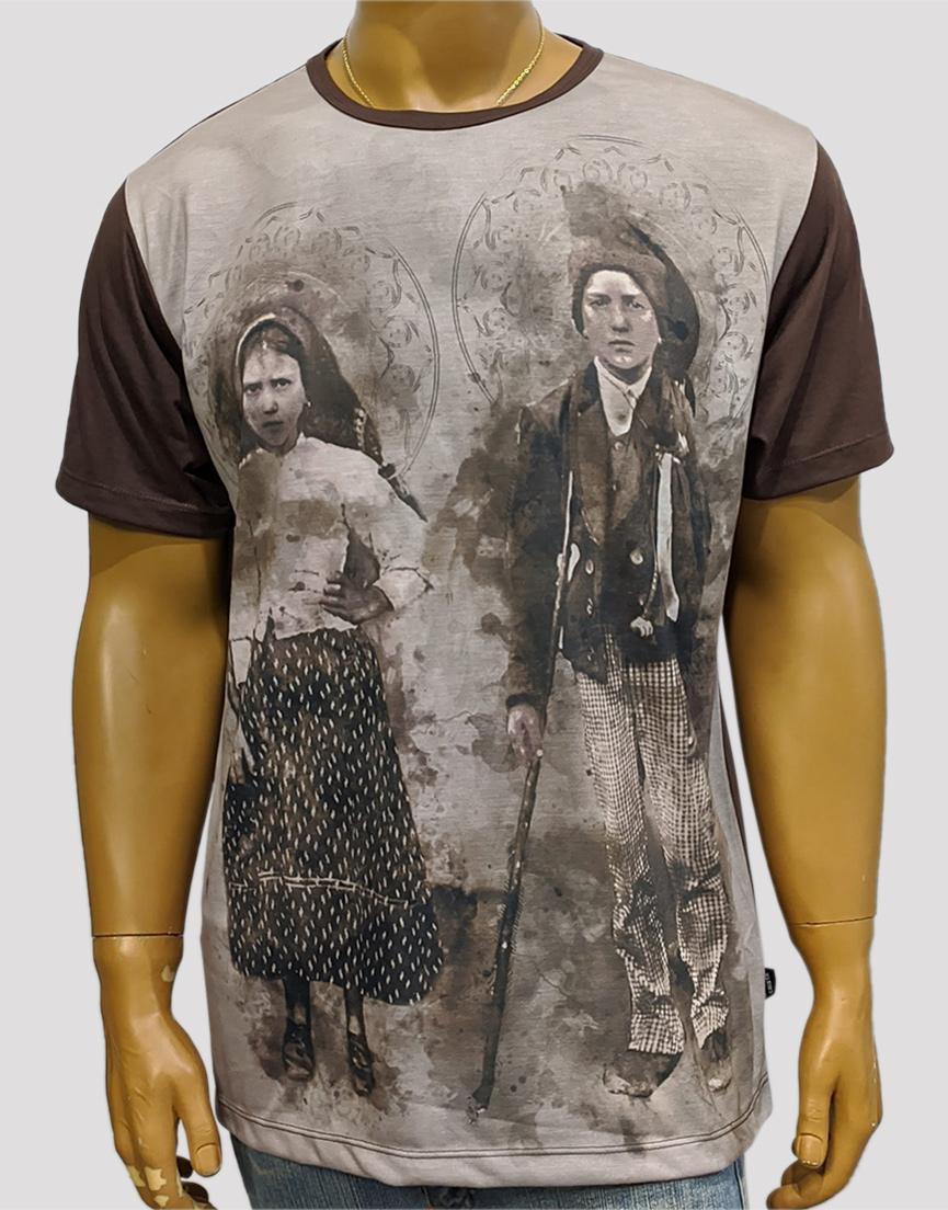 Camiseta Os Pastorinhos de Fátima