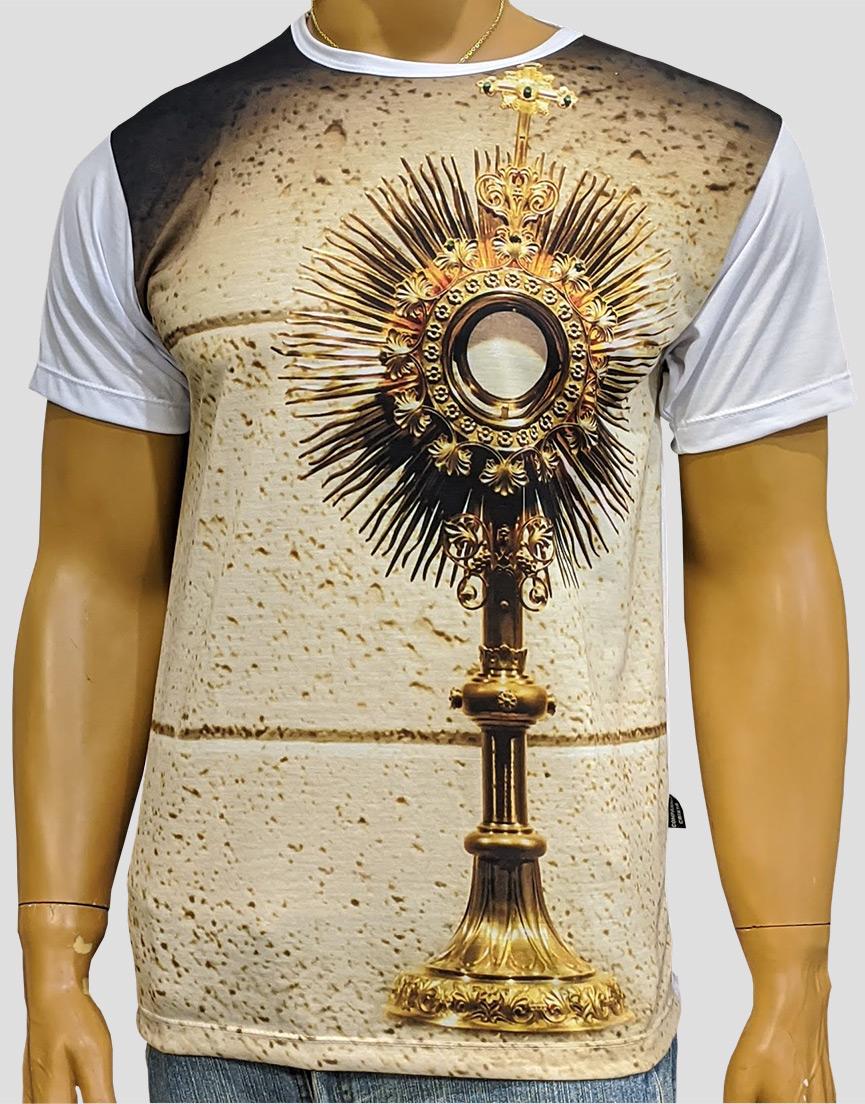 Camiseta Ostensório Dourado