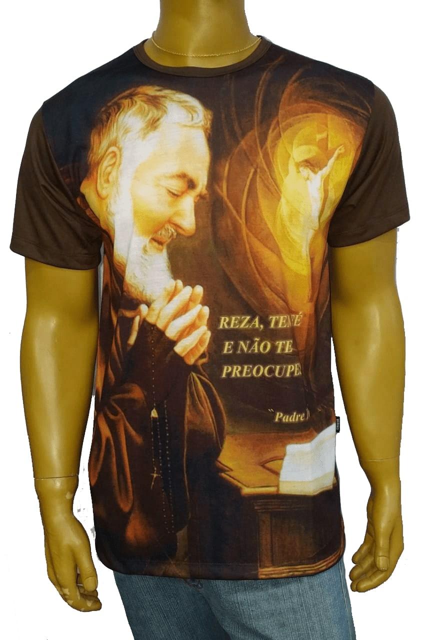 Camiseta Padre Pio