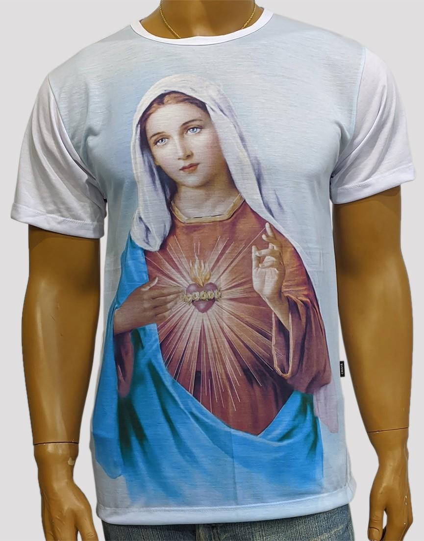 Camiseta Puríssimo Coração de Maria