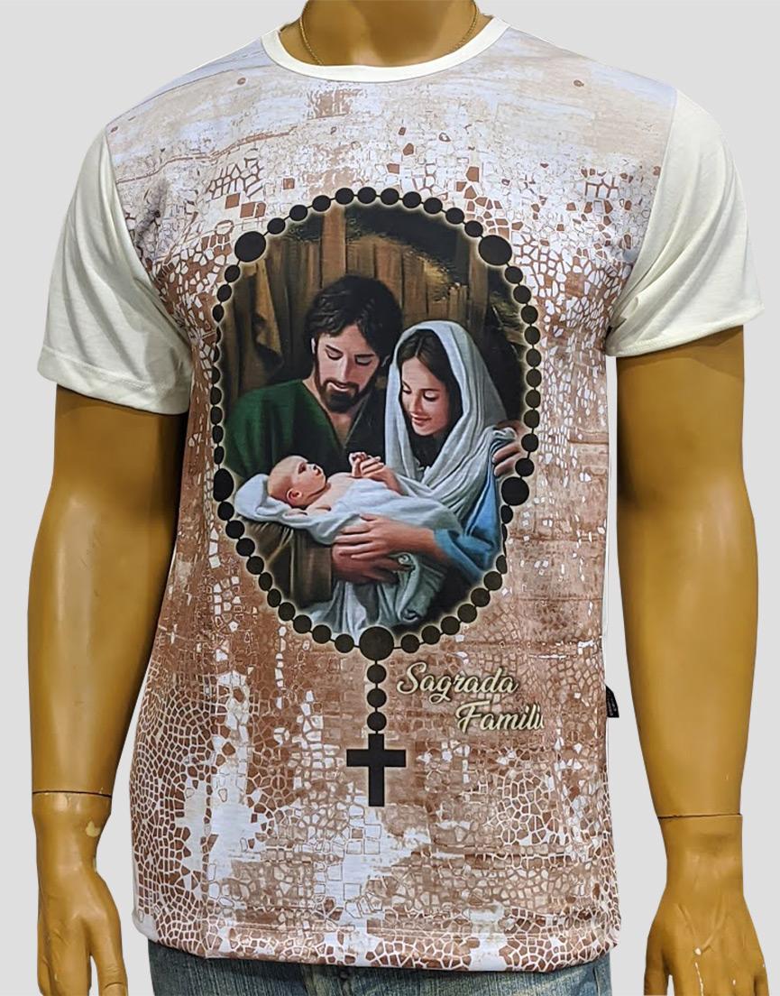 Camiseta Sagrada Familía Nova Marfim