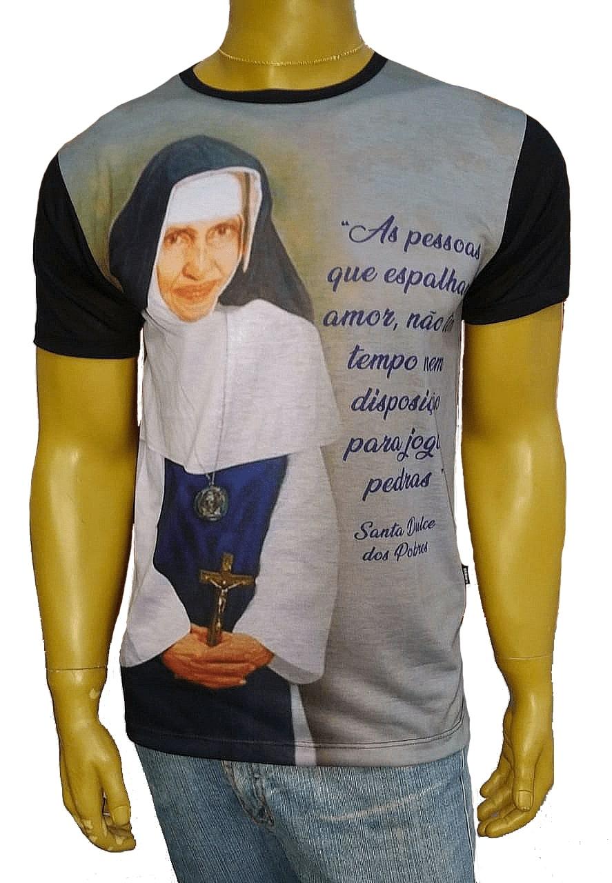 Camiseta Santa Dulce dos Pobres