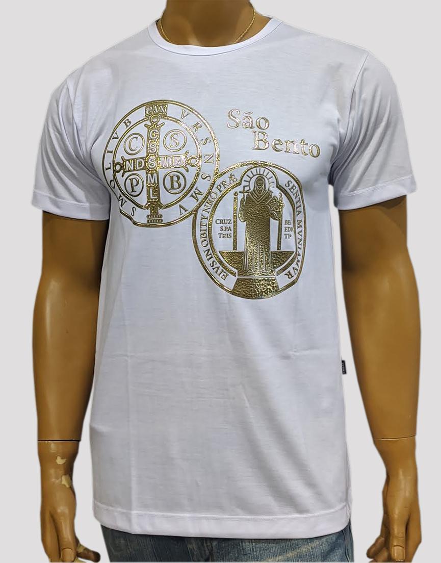 Camiseta São Bento Crom Branca