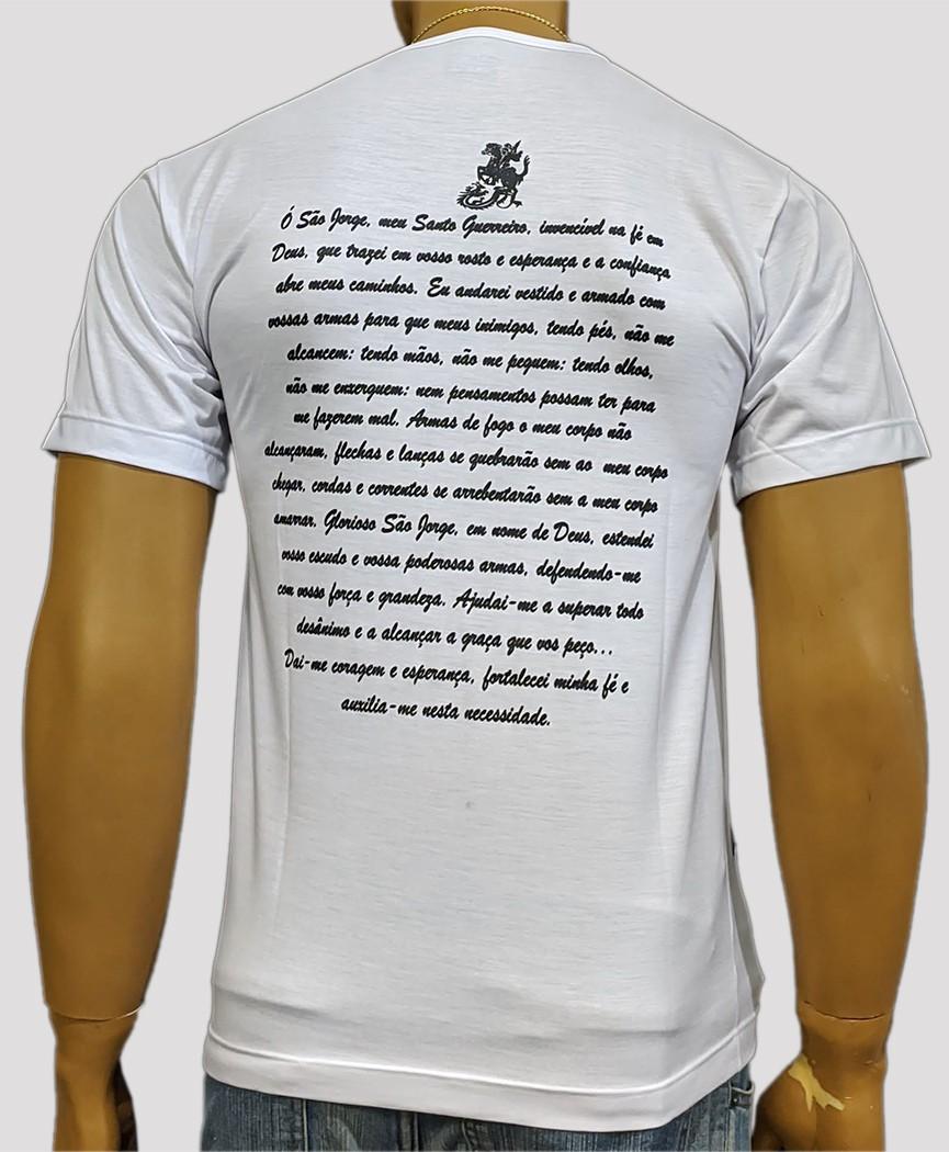 Camiseta São Jorge Mono Antigo