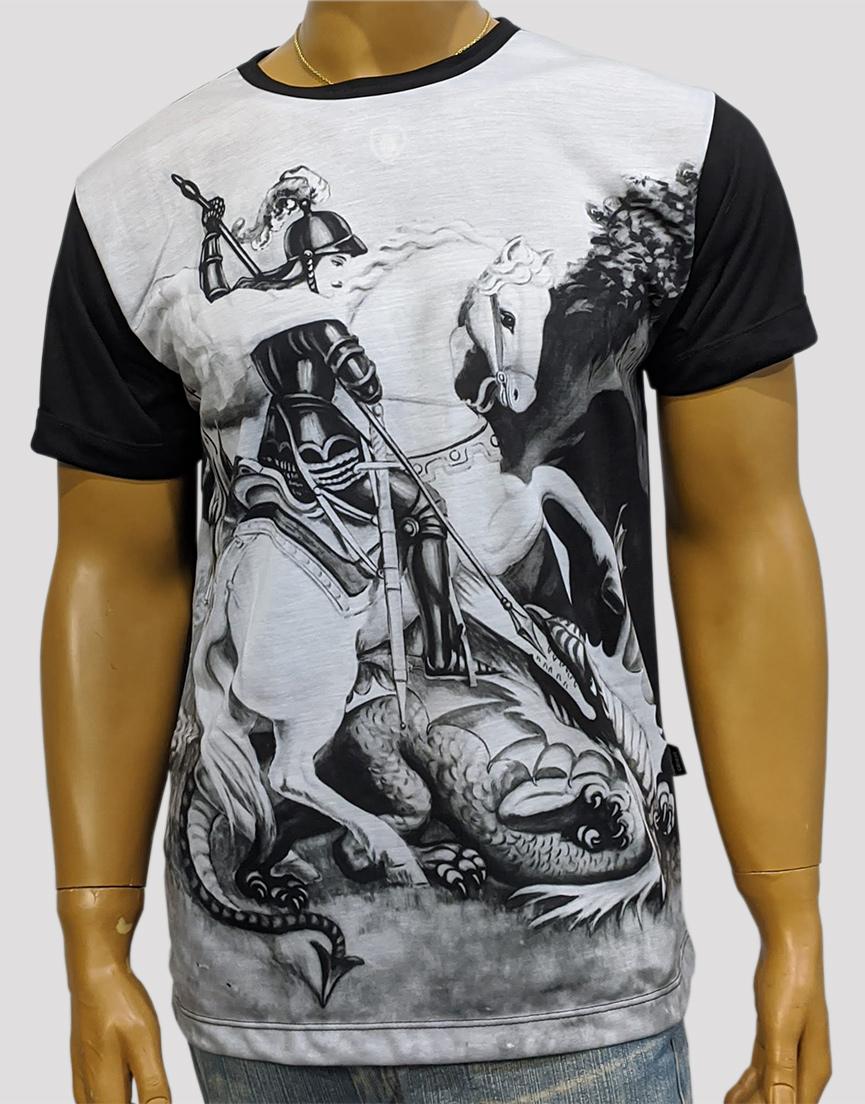Camiseta São Jorge Mono Preto