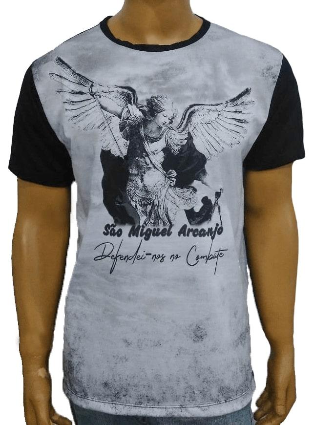 Camiseta São Miguel Arcanjo Novo Preto