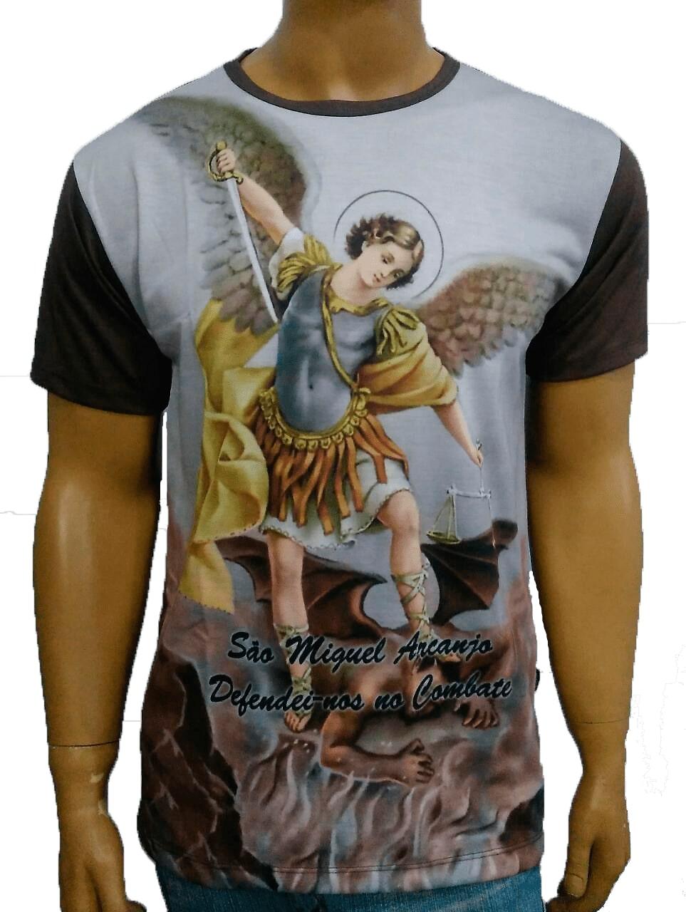 Camiseta São Miguel Color