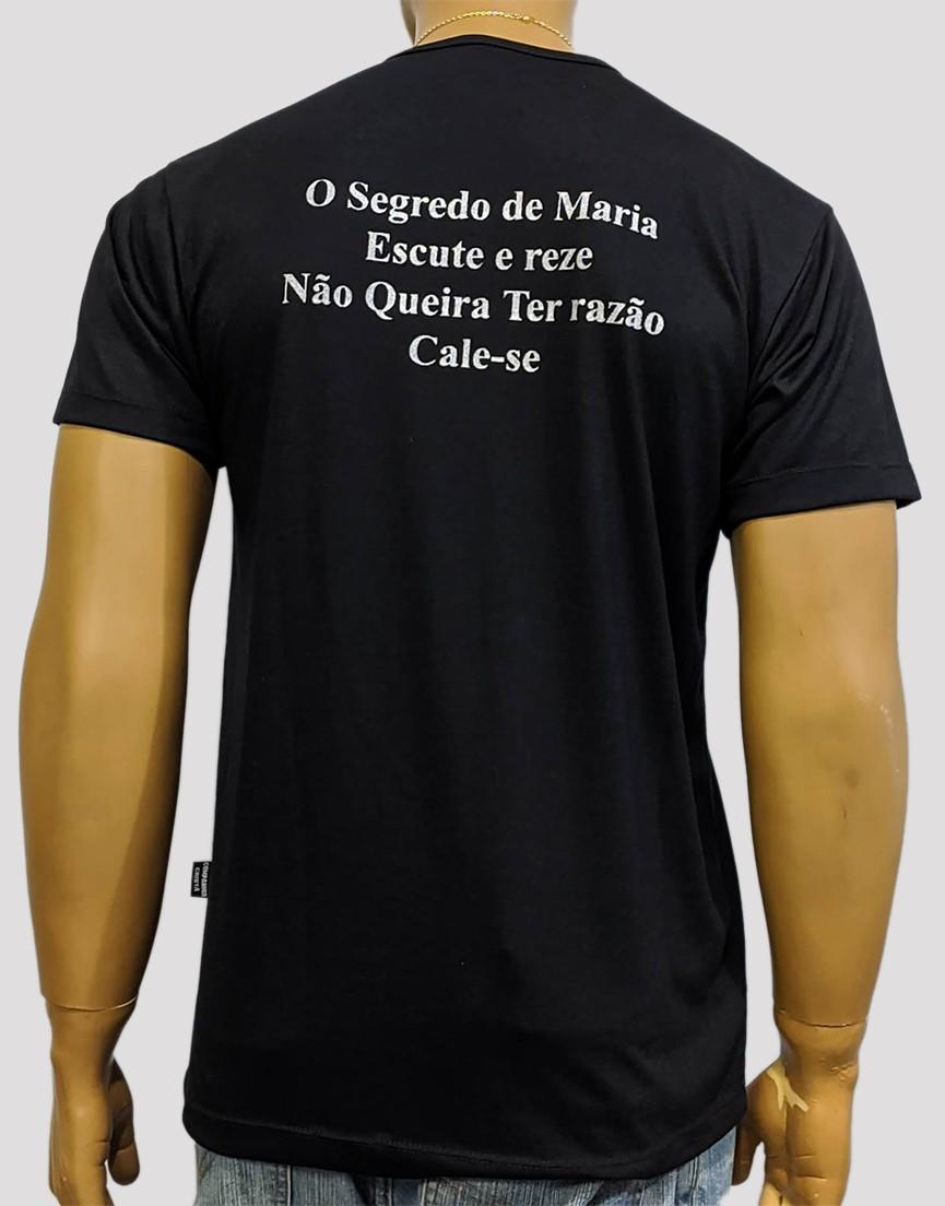 Camiseta Virgem do Silênico Preta