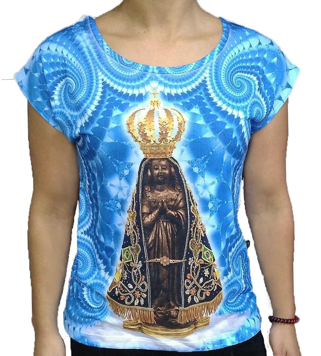 Jap. de Bali Nossa Senhora Aparecida Mandala Azul