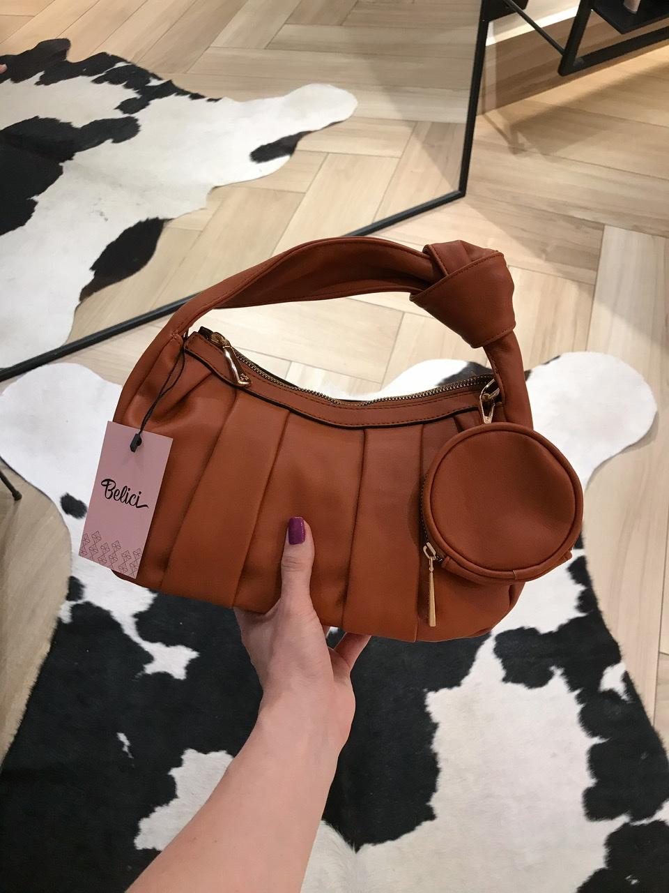 Bolsa Elen Caramelo