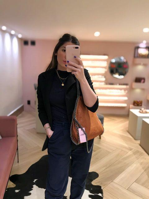 Bolsa Stella Inspired M Caramelo