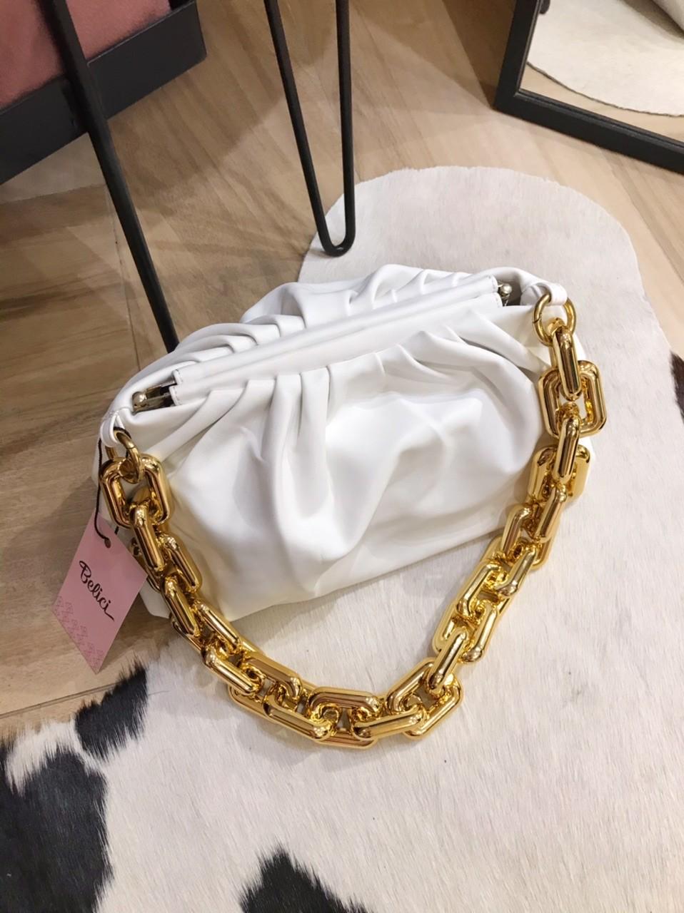 Bolsa Venetta Branca