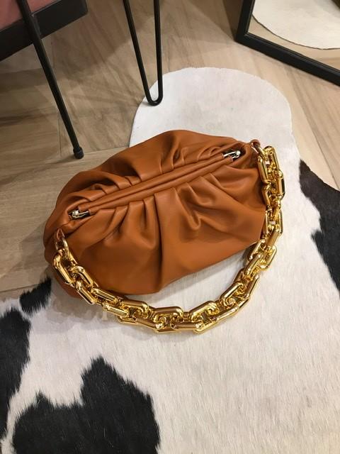Bolsa Venetta Caramelo