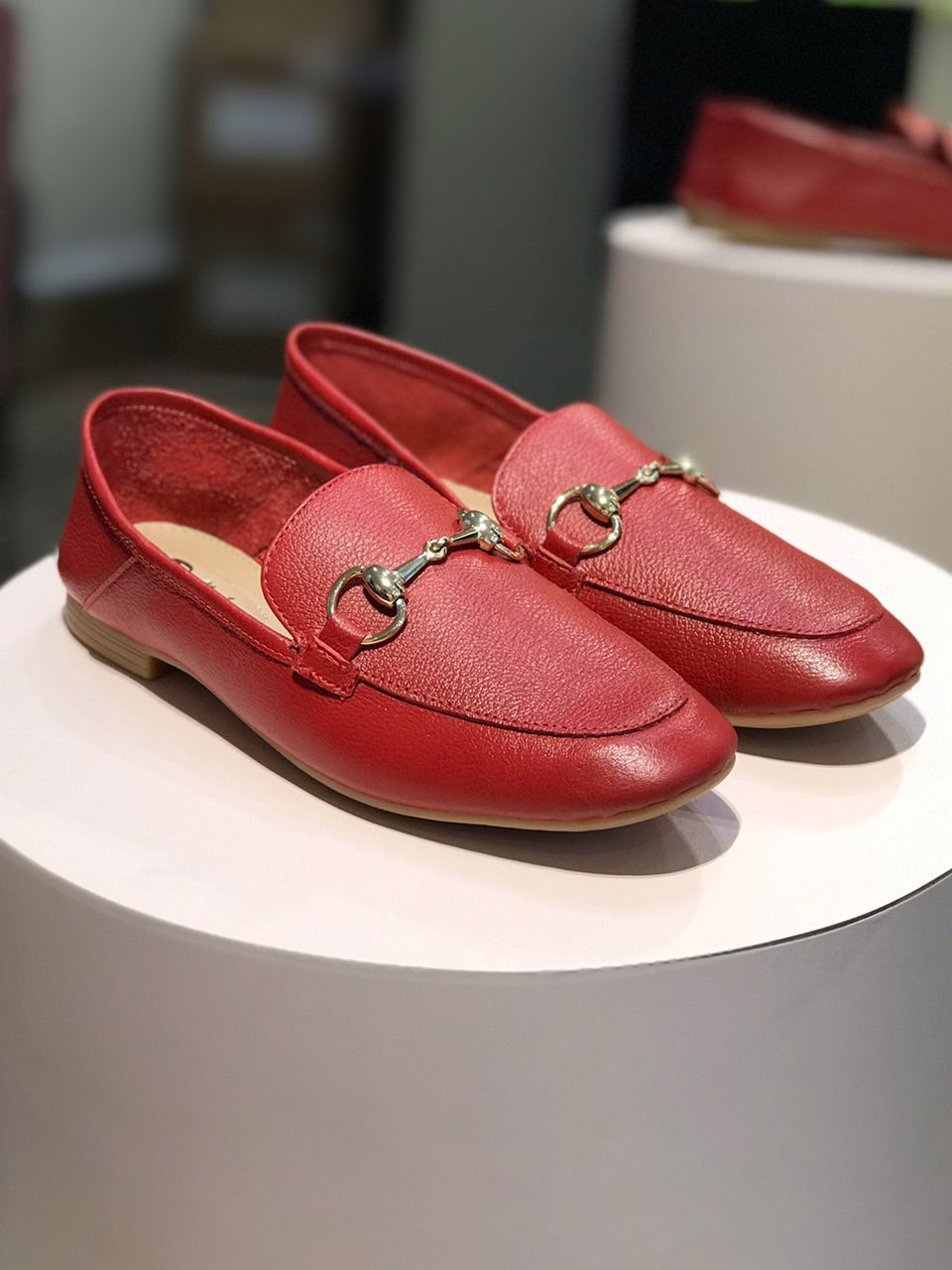Loafer Vermelho