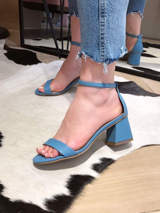 Sandália Cherry Azul
