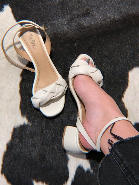 Sandália Eloise Off White