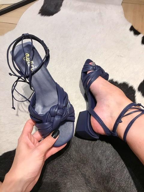 Sandália Keity Azul