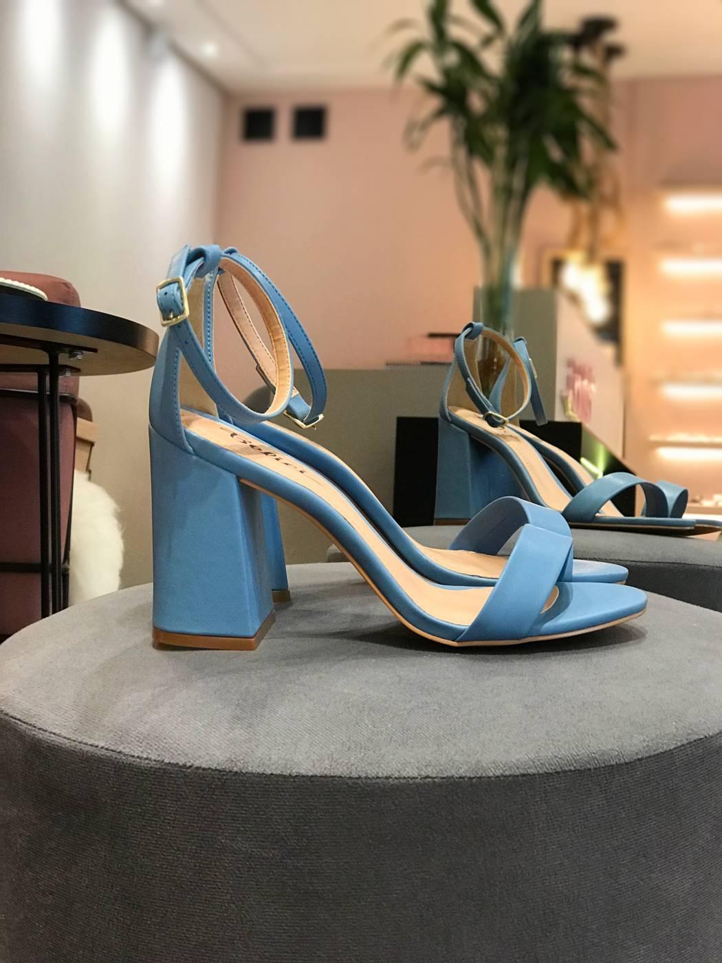 Sandália Luma Azul