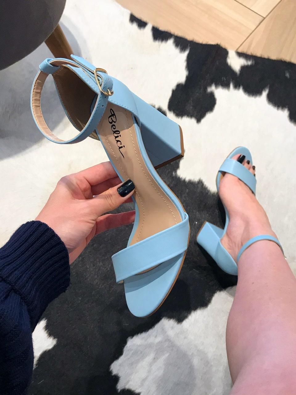 Sandalia Luma Azul Nuvem