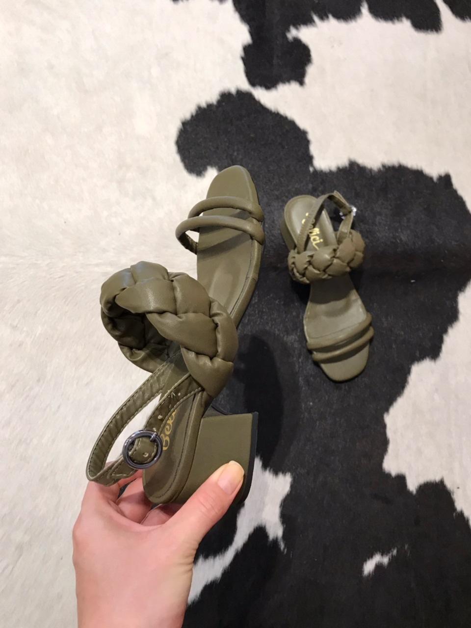 Sandália Rúbia Verde Militar