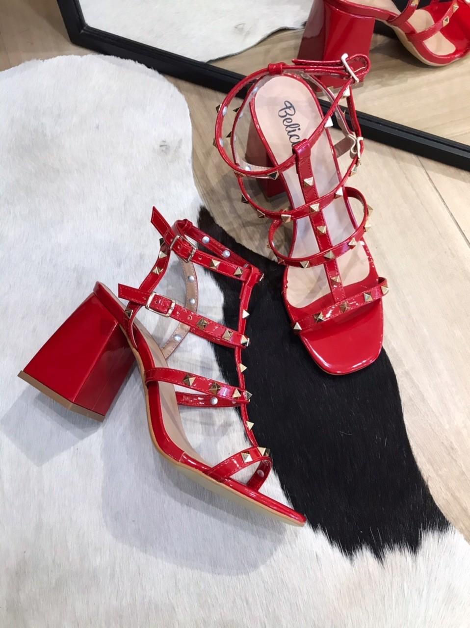 Sandália Val Vermelha