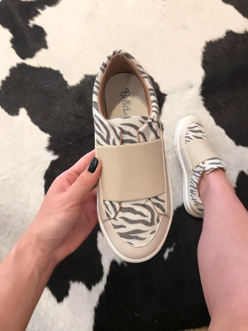 Slip On Belici Essencial Zebra